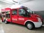 Obebranie lekkiego pojazdu ratowniczo-gaśniczego 2012